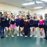 Dancers after class with Joshua Pueugh